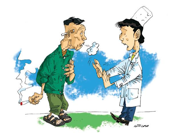 Hưởng ứng Ngày Bệnh phổi tắc nghẽn mạn tính Thế giới 16/11/2011