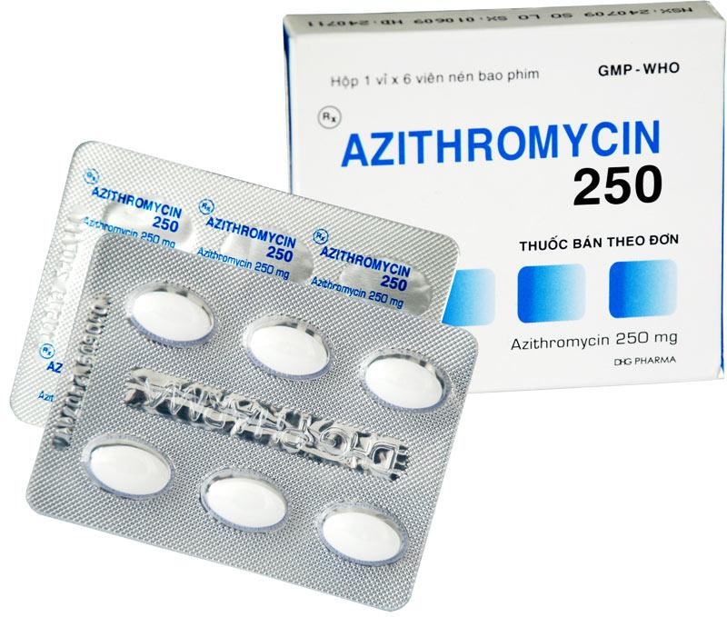 Uống azithromycin hàng ngày giảm trở nặng COPD