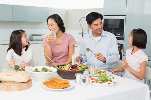 Cải thiện bữa ăn gia đình