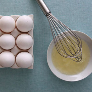 Giảm cân với lòng trắng trứng