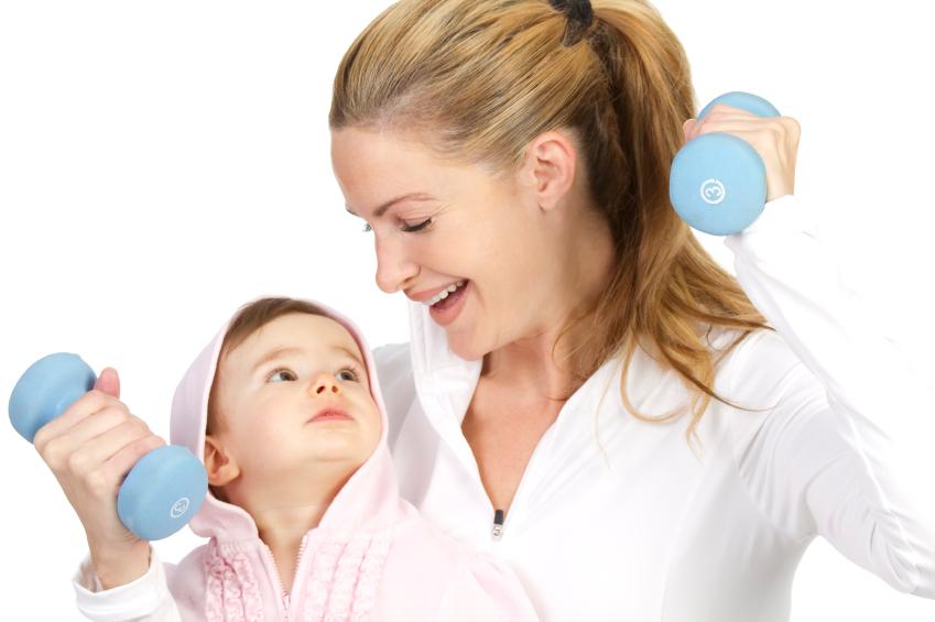 Cách giảm cân sau khi sinh