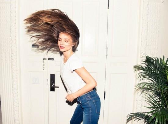 Quần jeans giúp tôn lên vòng 3 hấp dẫn