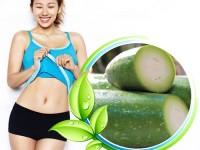 Giảm cân với sinh tố bí đao
