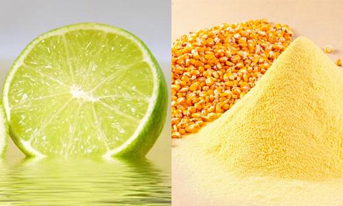Cách trị nám da tại nhà với nước chanh và bột ngô