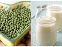 Cách trị mụn với hỗn hợp đậu xanh, sữa chua