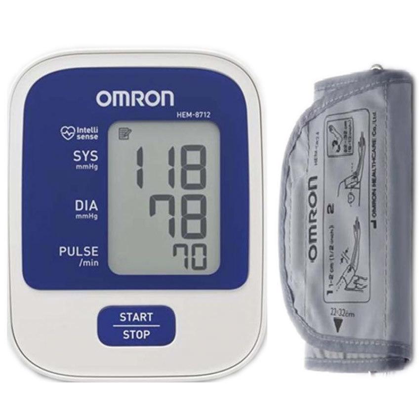 Máy đo huyết áp điện tử Omron HEM-8712