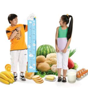 Chế độ dinh dưỡng như thế nào sẽ giúp các bé tăng cường chiều cao?