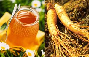 Các vị thuốc từ nhân sâm Hoa Kỳ và mật ong