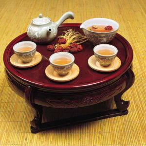 Cách pha trà hồng sâm và uống trà của người Hàn Quốc