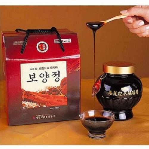 Tác dụng chữa bệnh của cao hồng sâm Hàn Quốc