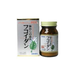 Orihiro Fucoidan – Thuốc Fucoidan có nhiều tác dụng thần kì