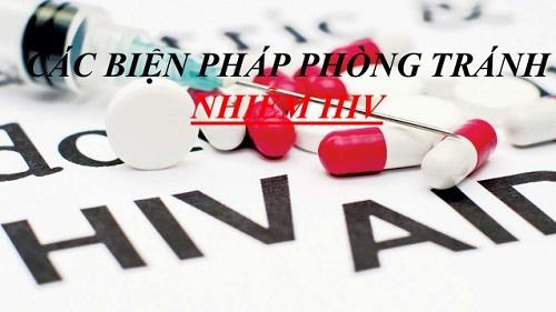 Biện pháp phòng tránh HIV