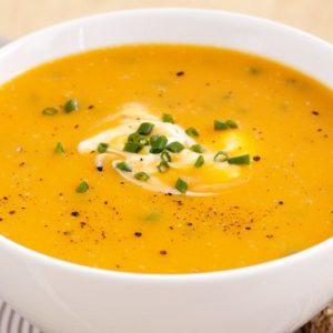 Cách nấu súp bí đậu đỏ cho bé từ 1-3 tuổi