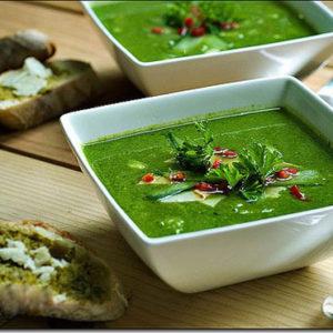 Súp tôm bó xôi- món súp dinh dưỡng dành cho trẻ 1-3 tuổi
