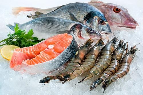 Hải sản là thực phẩm cải thiện yếu sinh lý rất tốt
