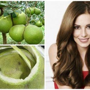 3 cách điều trị rụng tóc bằng vỏ bưởi hiệu quả tại nhà