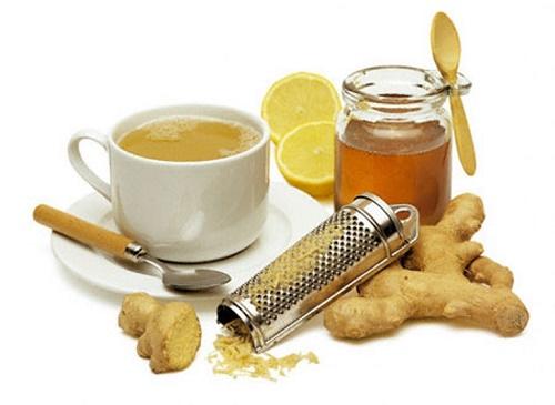 Chữa bệnh bằng mật ong rừng, chanh và trà gừng