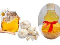 Công dụng của tỏi và mật ong