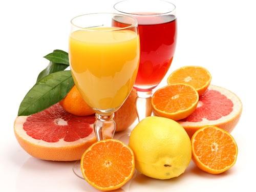 Bổ sung nước ép trái cây