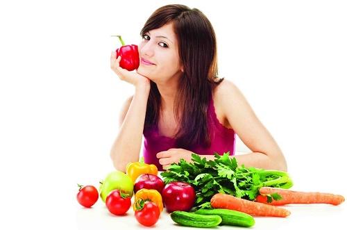 Nám da do chế độ ăn uống không khoa học