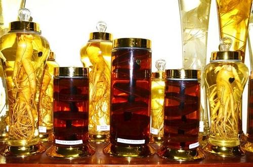 Rượu nếp nấm linh chi