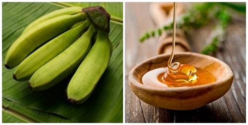 Cách chữa bệnh đau dạ dày bằn mật ong và chuối hột