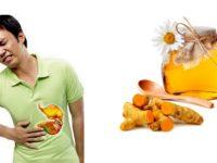 Cách chữa bệnh đau dạ dày bằng mật ong và nghệ