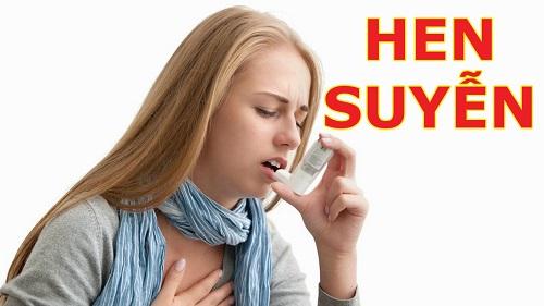 Hen suyễn là căn bệnh nguy hiểm