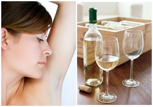 Cách chữa bệnh ra mồ hôi nách bằng rượu trắng