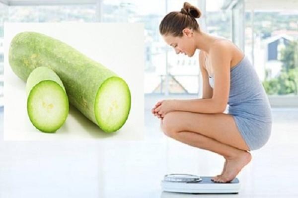 Công thức giảm cân bằng bí đao, sau 1 tháng giảm 5 kg
