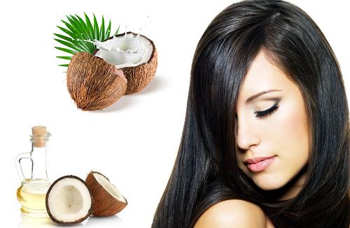 Chữa rụng tóc sau sinh bằng dầu dừa