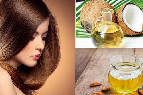Dùng dầu dừa giảm rụng tóc