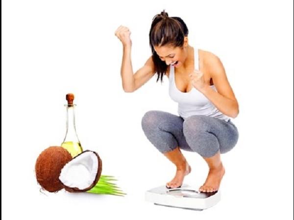 Cách các giảm mỡ bụng hiệu quả bằng dầu dừa