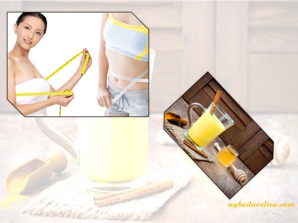 Cách uống tinh bột nghệ giúp bạn giảm cân an toàn
