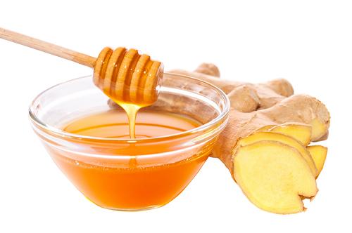 Chữa đầy hơi, khó tiêu bằng mật ong, gừng