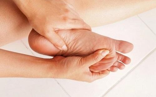 Ung thư cũng xuất hiện ở bàn chân