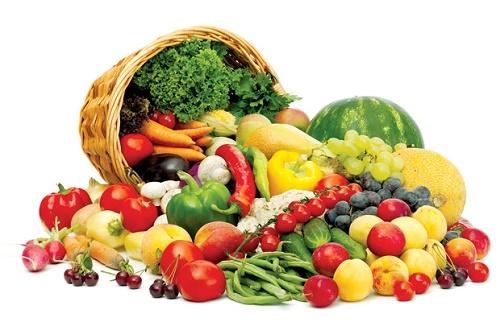 Ăn nhiều các loại rau củ quả