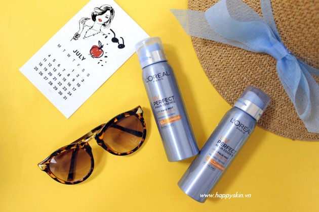 Xịt chống nắng L'Oréal Paris UV Perfect Aqua Essence City Mist SPF 50 PA++++