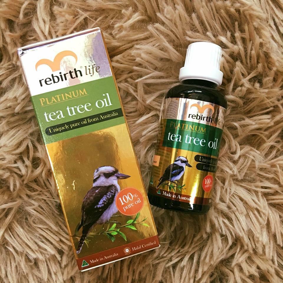 Tinh dầu trà xanh Lanopearl Platinum Tea Tree Oil