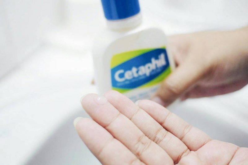 sữa tắm nhẹ dịu cetaphil