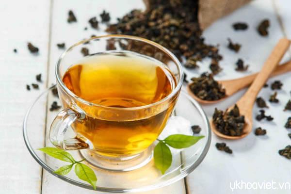 Uống trà giảm cân hiệu quả
